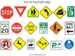 The Correct Traffic Signs for Parking Facilities