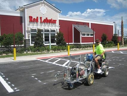 Perma Stripe of Florida gives Red Lobster a Facelift!