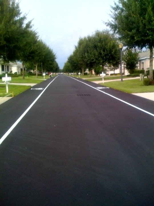 Kings Ridge, Clermont FL a customer of Perma Stripe of Florida