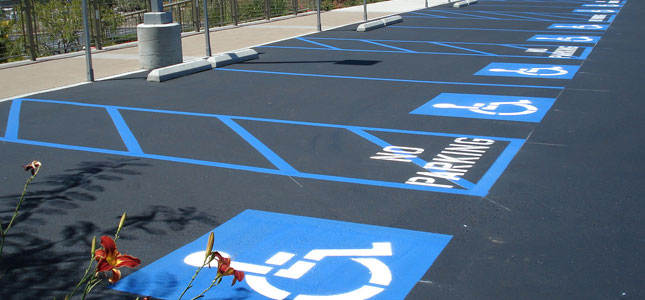 parking lot design  presented by Prema stripe of Central Florida
