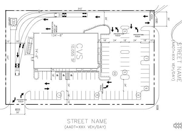 parking lot plan Parking Lot Design in Orlando Florida - 407-814-7400